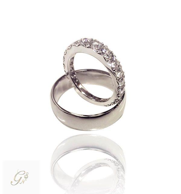 Alliansring vigselring förlovningsring eternity