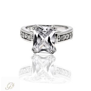Vigselring diamantring