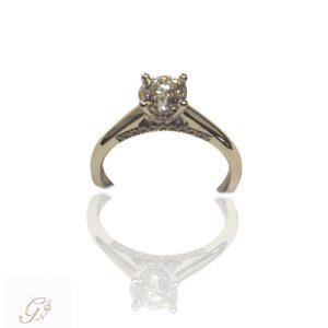 vigselring diamantring enstensring förlovningsring