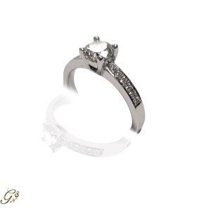 diamantring vigselring förlovningsring
