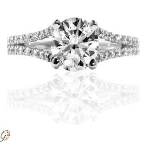 förlovningsring vigselring diamantring