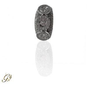 haloring, vigselring förlovningsring diamantring